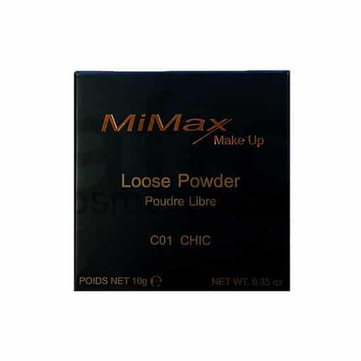 MiMax-Make-Up-Loose-Powder-box