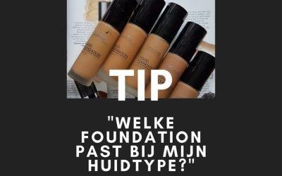 Welke foundation past bij mijn donkere of getinte huid?